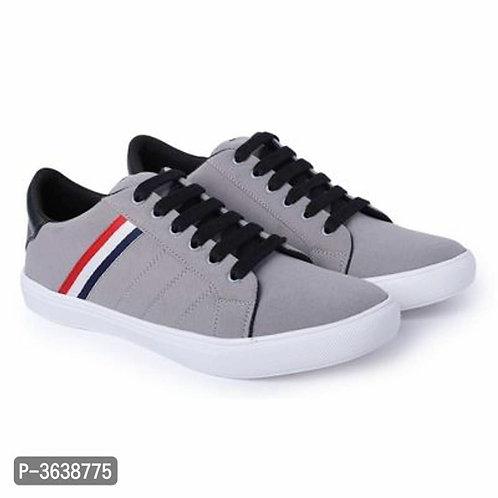 Grey Casual Sneakers