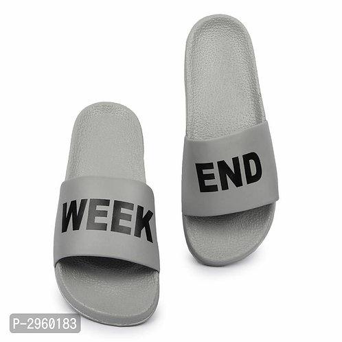 Grey Sliders For Men
