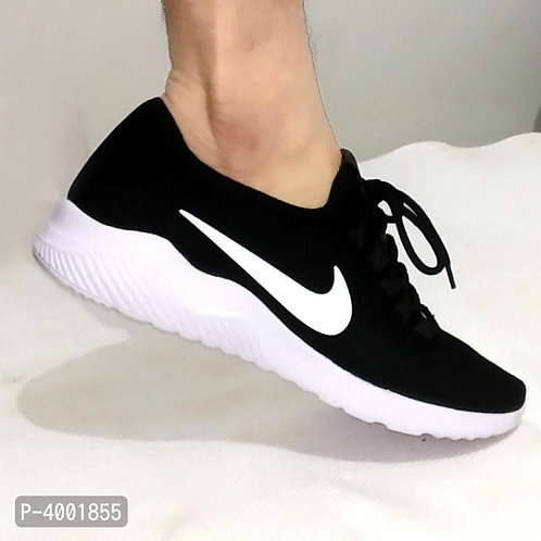 Black Sports Shoes for Men