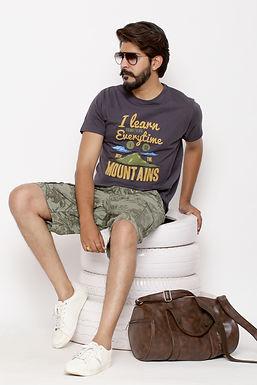 I learn - Printed Round Neck Tshirt