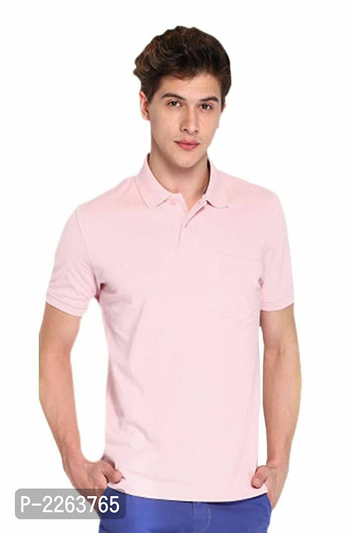 Pink Polo T Shirt