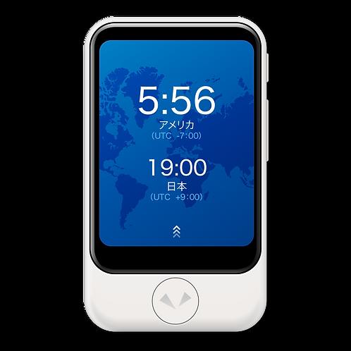 POCKETALK S (ポケトークS) ホワイト グローバル通信 (2年) 付き