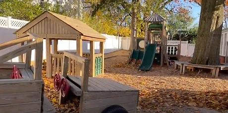First Congregational Church Nursery School playground