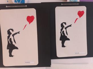 Banksy: l' artista del mese!