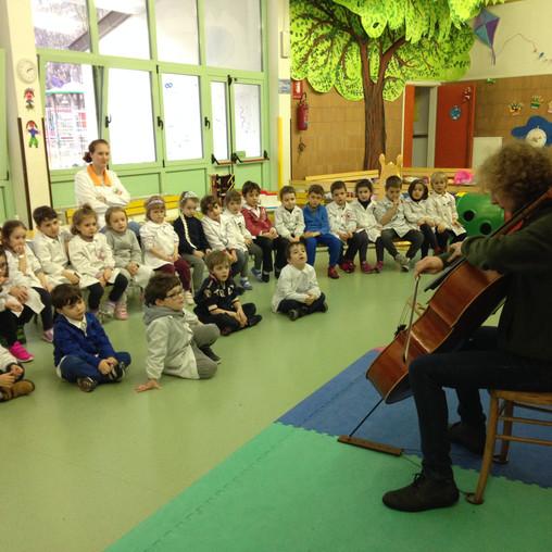 ...il violoncello Mariello!