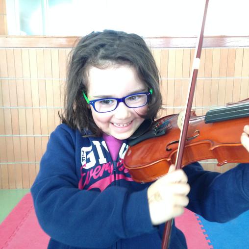 ...il violino Pasqualino!