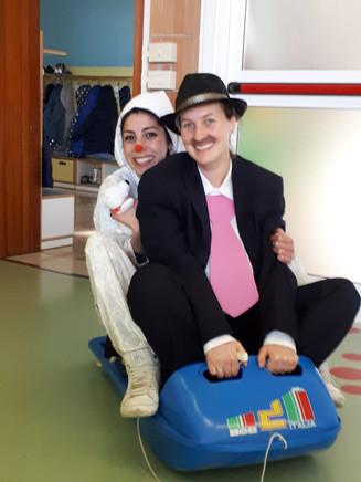 Armando e la Pimpa sono in partenza...