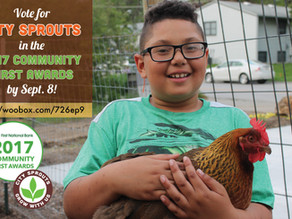 Vote for City Sprouts to win $10,000!