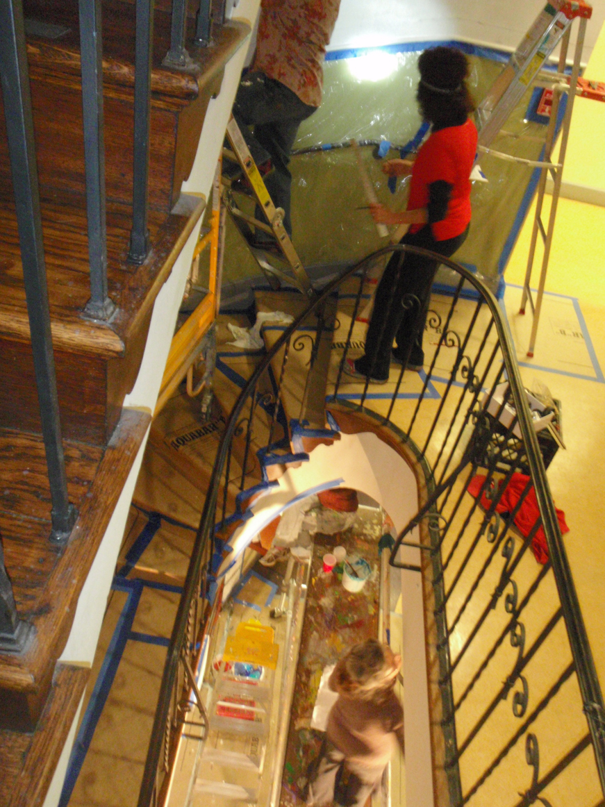 View from Above Stairwell