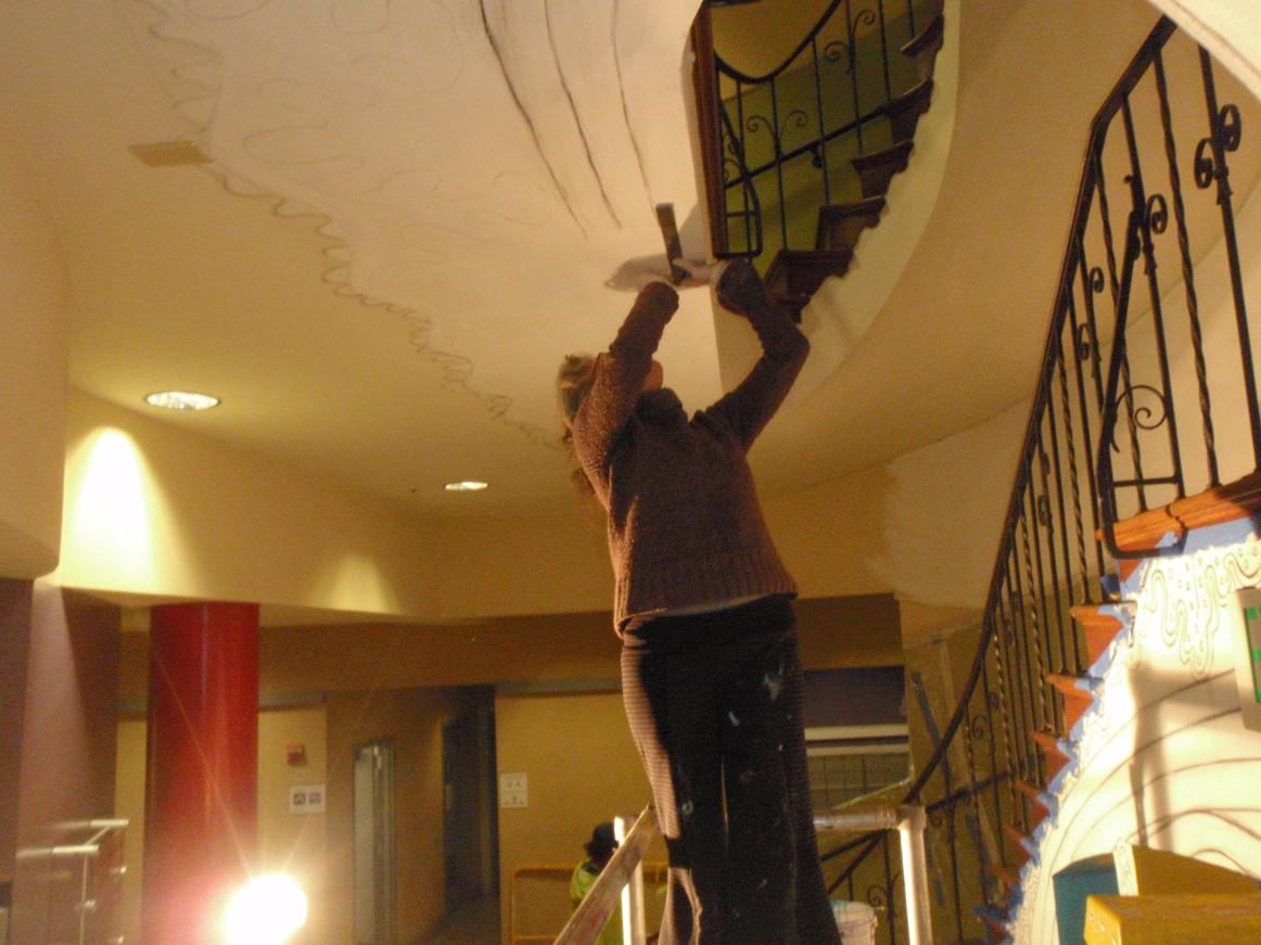 Juana Drawing Ceiling