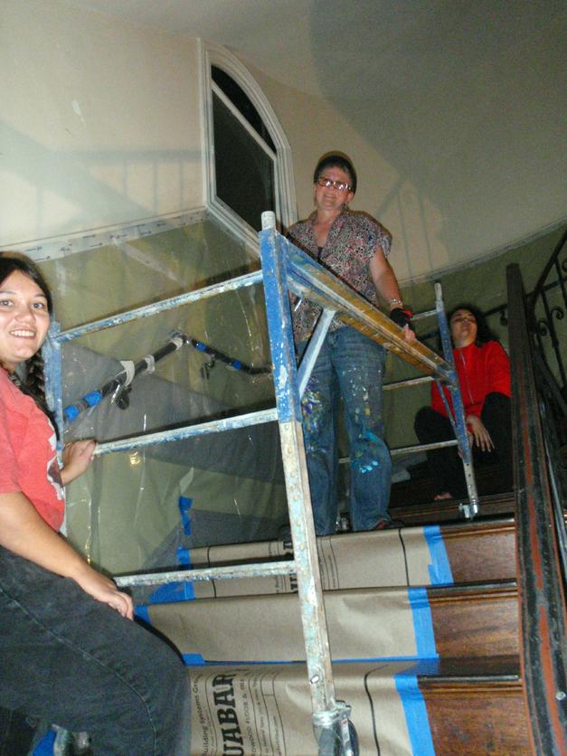 Stairway Scaffolding