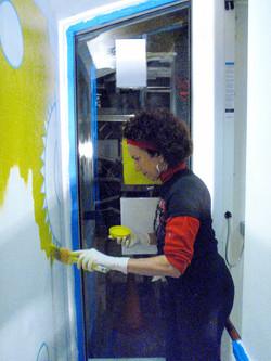 Miranda Bergman, Painting