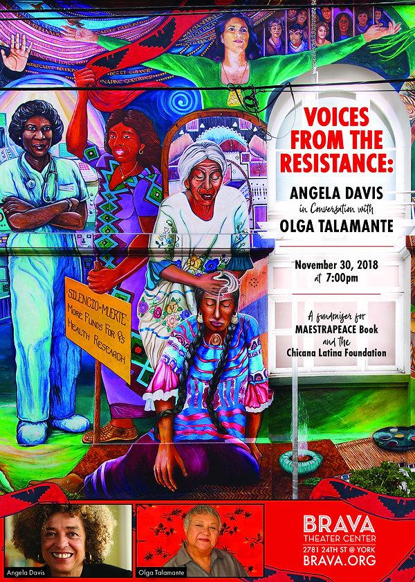 Voices of the Resistance, Brava, postcar