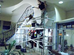 Preparing Ceiling