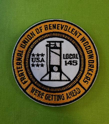 Fraternal order of woodworkers (velcro patch)