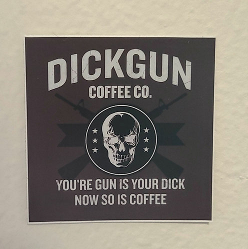 Dickgun Coffee Co. (sticker)