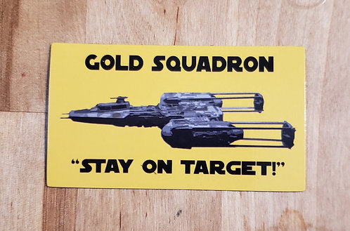 Stay On Target (magnet)