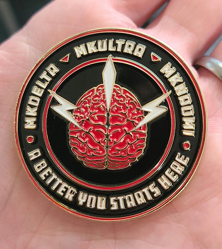 MKULTRA challenge coin