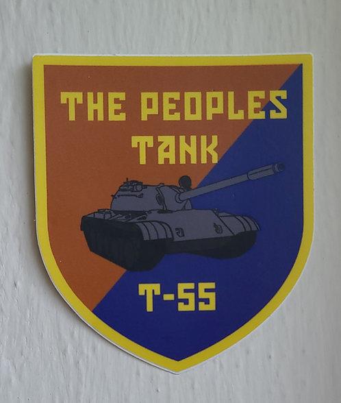 The people's tank (sticker)
