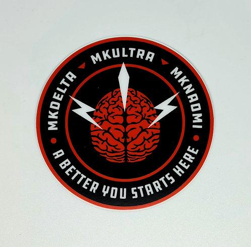 MKULTRA sticker
