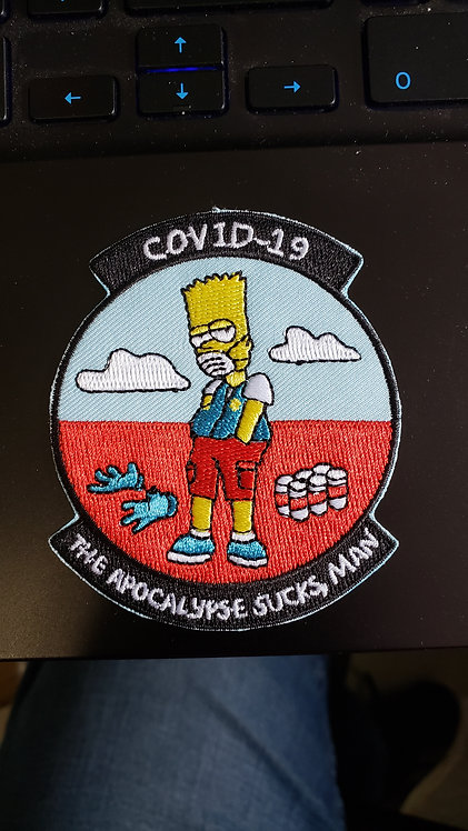 Bootleg Bart (Iron on backing)