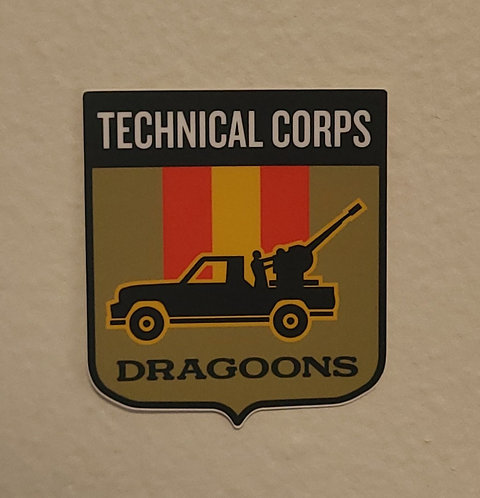 Technical Corps Dragoon (sticker)
