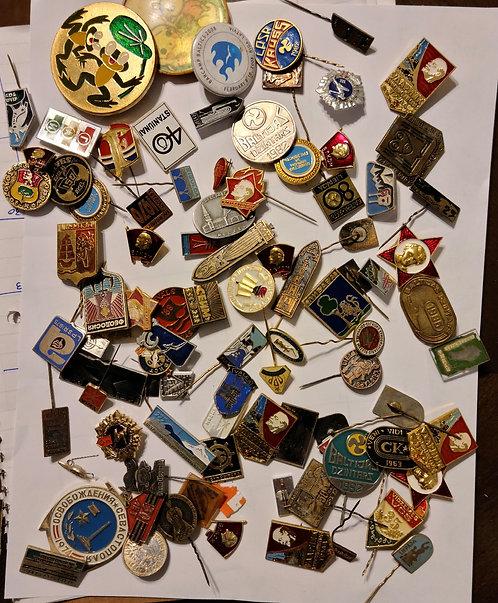 Soviet pin blind bag
