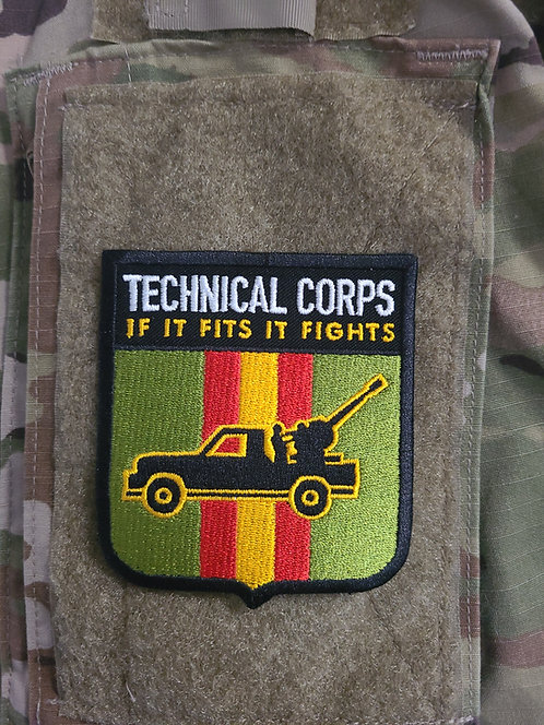 Technical Corps (velcro patch)