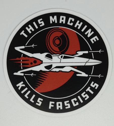 This machine (sticker)