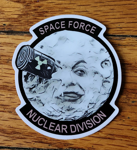 Space Force Moon (Sticker)