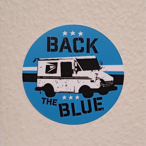 Back the Blue (sticker)
