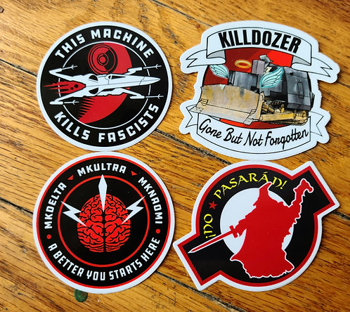 The Patch Pack (Stickers)
