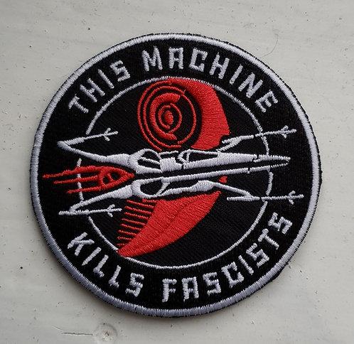 This Machine patch (velcro)