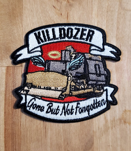 Killdozer patch (iron on)