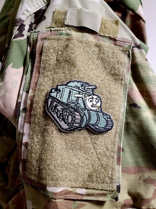 Thomas the Tank (velcro hook patch)