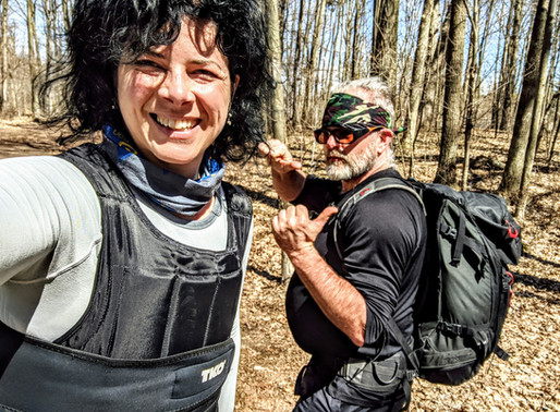 Ruck Marching For Hiking Fitness And Fat Loss