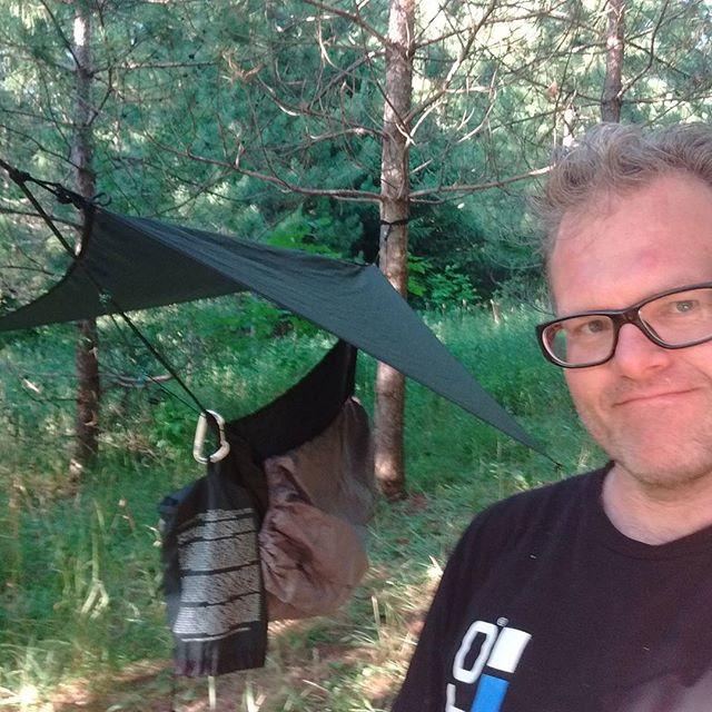 Hammock Camping setup