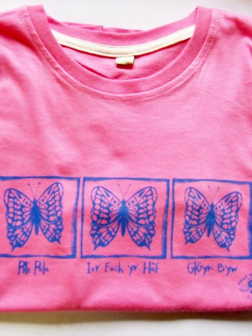 Crys-T Iar Fach Yr Haf/Butterfly T