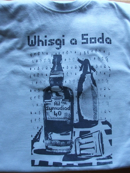 Crys T Whisgi a Soda/T-Shirt