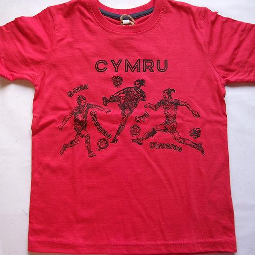Wales Gorau Chwarae T-Shirt