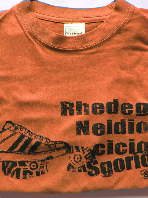 Crys-T Rhedeg/Run T-Shirt