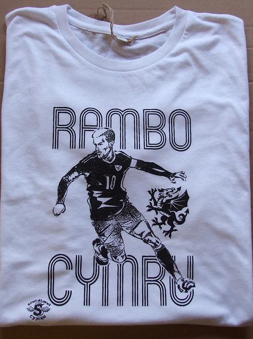 Crys-T Rambo Cymru/Rambo T-shirt