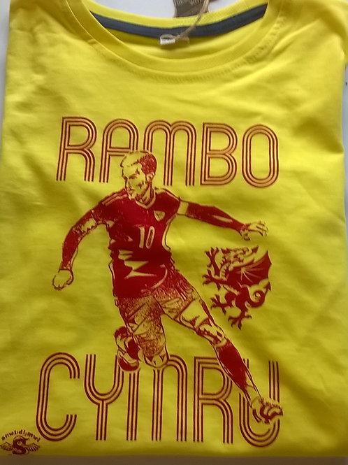 Crys-T Rambo plant/Kids Rambo T
