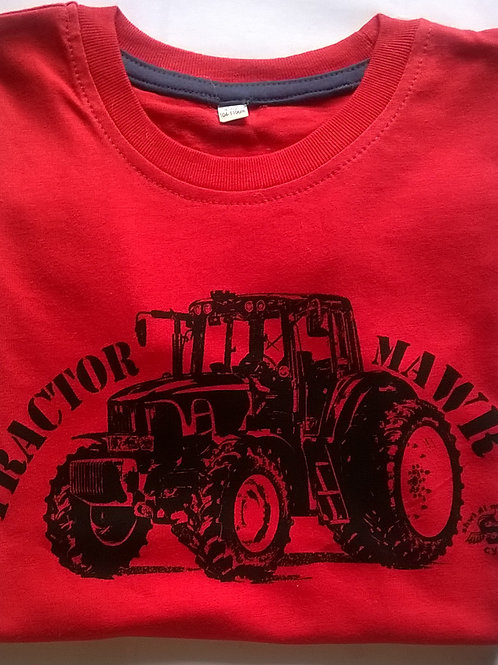 Crys-T Tractor Mawr