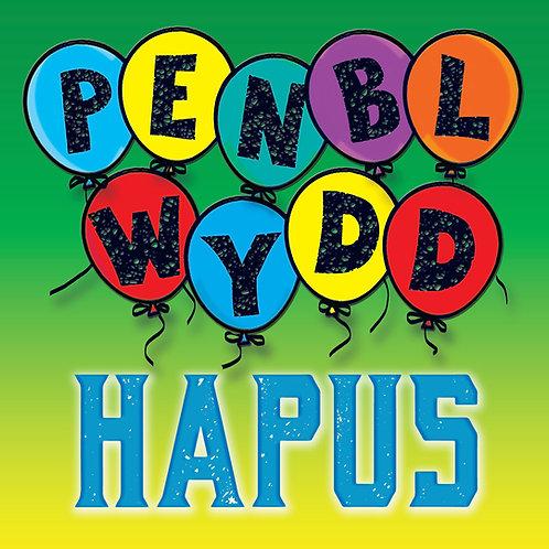 Carden Penblwydd Hapus/Balloon Birthday Card