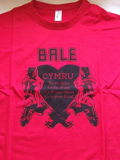 T Bale CYMRU/T-shirt