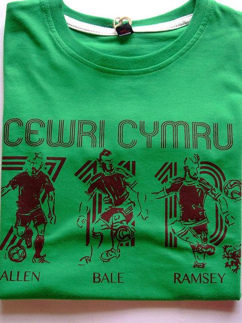Crys-T Cewri Cymru Plant/Kids Cewri Cymru T