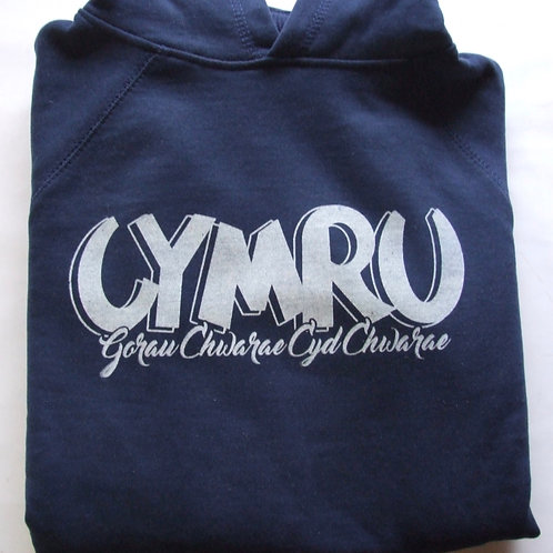 Hoodie Cymru Gorau Chwarae/Wales Hoodie
