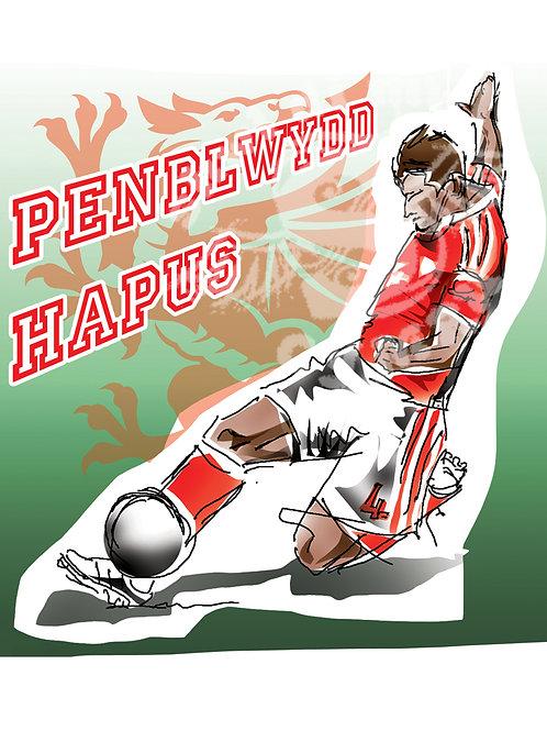 Carden Penblwydd Ben Davies