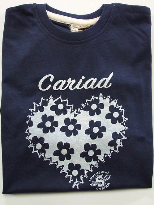 Crys-T Cariad Blodau/Cariad Flower T